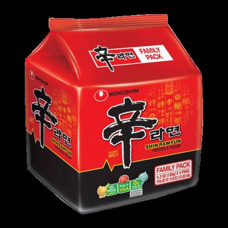 Shin Ramyun 4.2oz(120g) 4 Packs