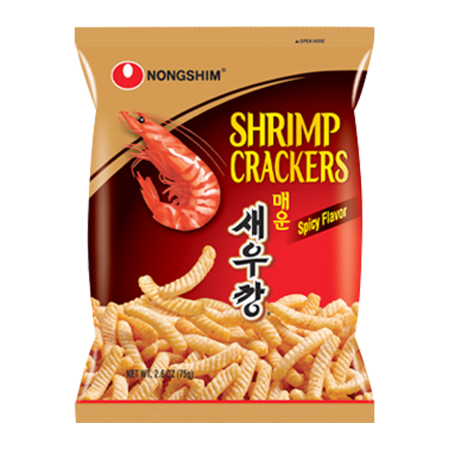 Shrimp Cracker Spicy Flavor 2.6oz(75g)