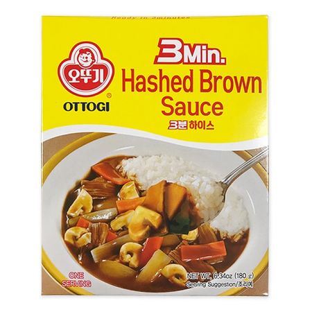 3 Minutes Hashed Brown Sauce  6.35oz(180g)