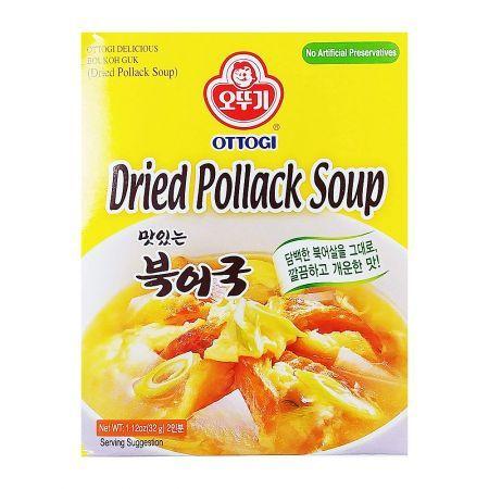 Dried Pollack Soup 1.12oz(32g)