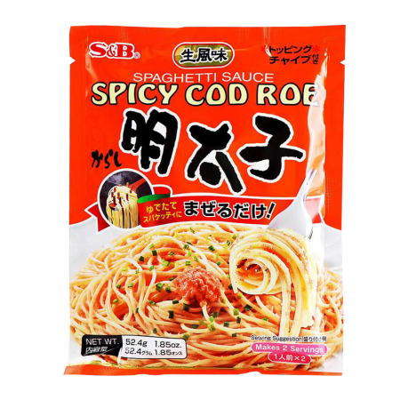 Spaghetti Sauce Spicy Cod Roe 1.85oz(52.4g)