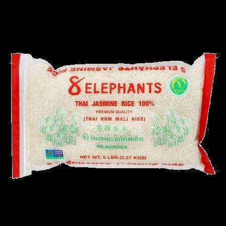 Thai Jasmine Rice 100% 5lb(2.27kg)