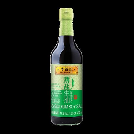 Less Sodium Soy Sauce 16.9 fl.oz(500ml)