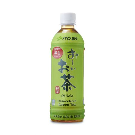 Oi Ocha Unsweetened Green Tea 16.9 fl.oz(500ml)