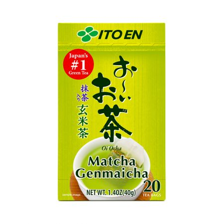 Oi Ocha Genmai Tea Tea Bags 0.07oz(2g) 20 Tea Bags