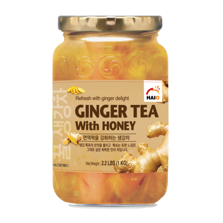 Ginger Tea with Honey 2.2lb(1kg)
