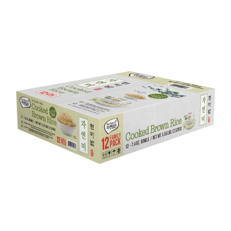 Cooked Brown Rice 7.4oz(210g) 12 Packs