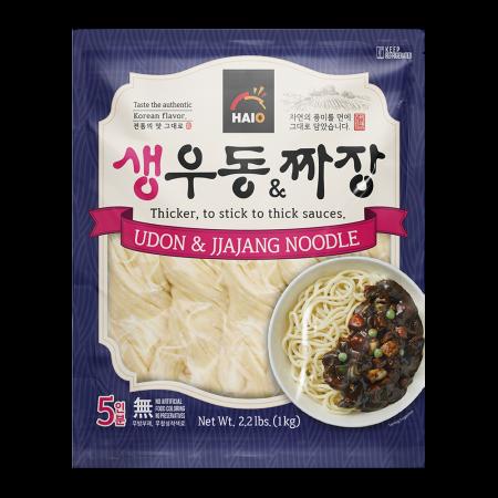 Fresh Udon & Jjajang Noodle 2.2lb(1kg)