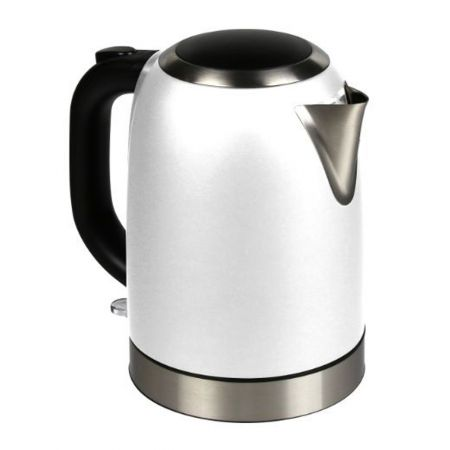 Stainless Steel Electric Kettle White 57.48oz(1.7L)