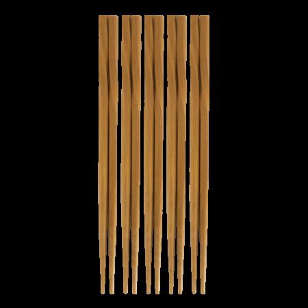 Bamboo Chopsticks (Twisted) 5 Set