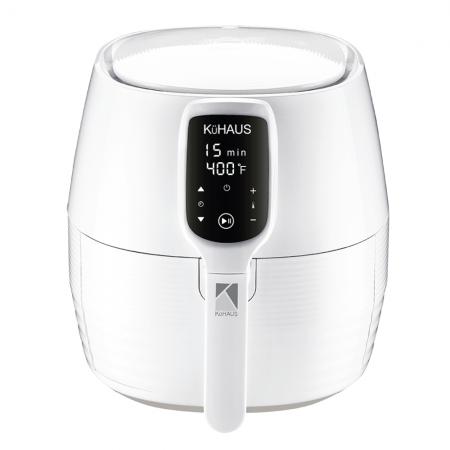 Touch-Screen Air Fryer White 1.32gal(5L)