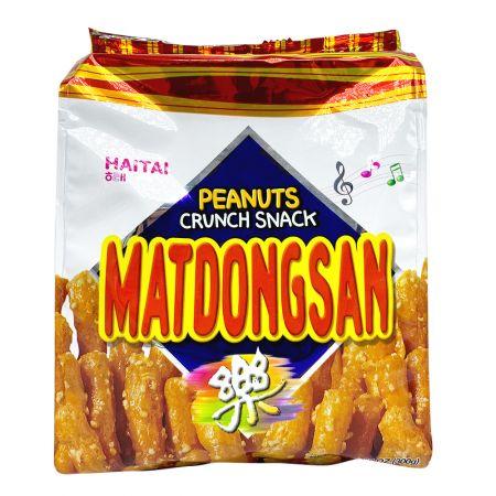 Matdongsan Peanut Crunch Snack Big Size 10.58oz(300g)