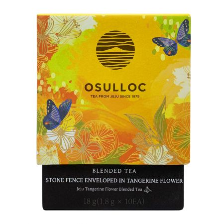 Stone Fence Enveloped in Tangerine Flower Tea 0.63oz(0.06oz X 10 Tea Bags)