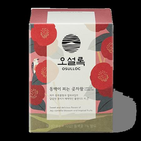 Camelia Flower Blooming Forest Tea 0.63oz(0.06oz X 10 Tea Bags)