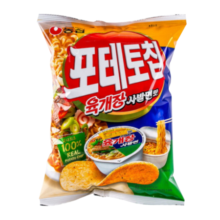 Potato Chip Yookgaejang Flavor 4.4oz(125g)