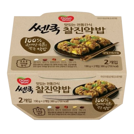 Cooked Flavored Glutinous Rice 6.7oz(190g)X2