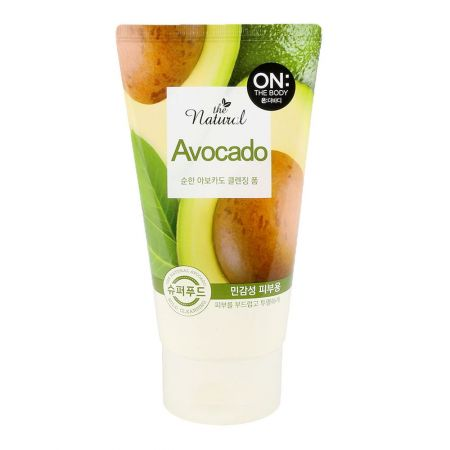 ON THE BODY The Natural Avocado Cleansing Foam 4.23oz(120g)