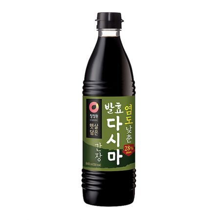 Low Sodium Naturally Brewed Soy Sauce 28.4 fl.oz(840ml)