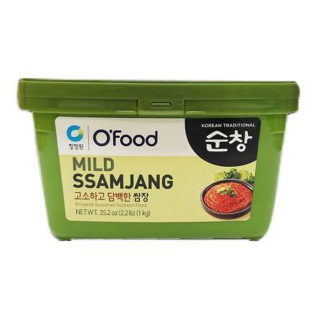 Mild Ssamjang (Original Seasoned Soybean Paste) 2.2lb(1kg)