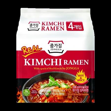 Kimchi Ramen 4.3oz(122g) 4 Packs