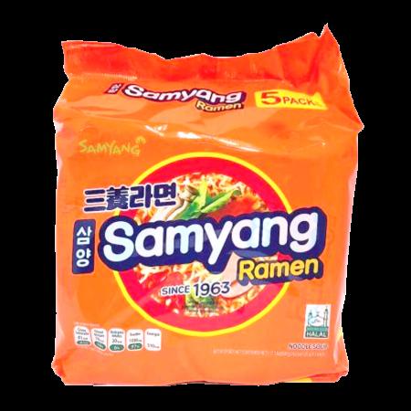 Samyang Ramen 4.23oz(120g) 5 Packs