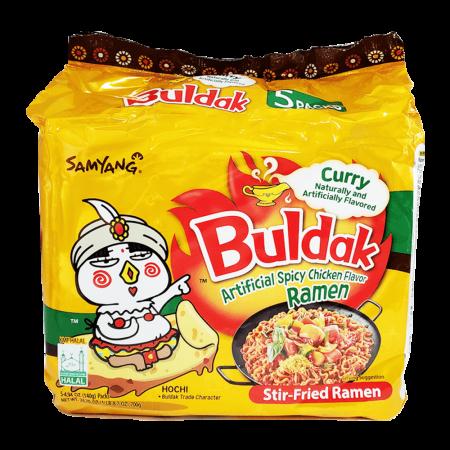 Curry Hot Chicken Flavor Ramen 4.94oz(140g) 5 Packs