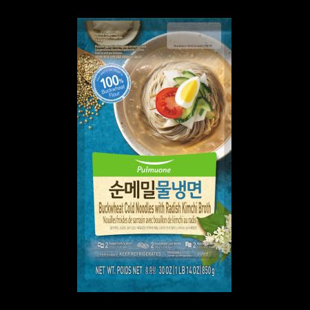 Buckwheat Cold Noodles with Radish Kimchi Broth 30oz(850g)