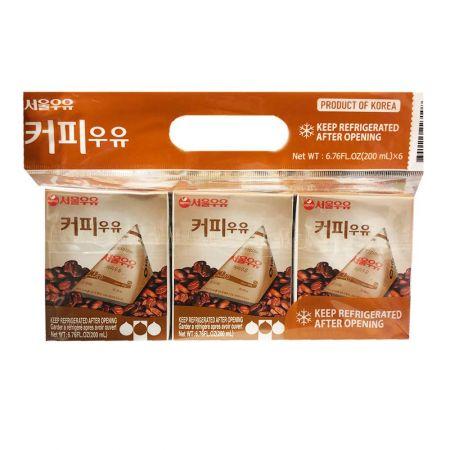 Coffee Flavored Milk Drink  6.76 fl.oz(200ml) 6 Packs