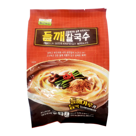 Perilla Seeds Knife Cut Noodles 13.64oz(387g)