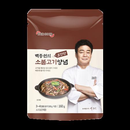 Paik Cook BBQ(Bulgogi) Sauce 5.64oz(160g)