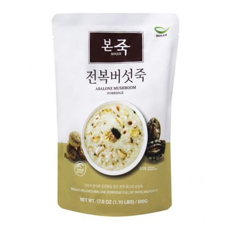 Abalone Mushroom Rice Porridge 1.1lb(500g)