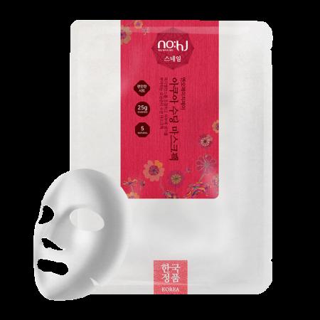 Aqua Soothing Sheet Mask Snail 0.88oz(25g)