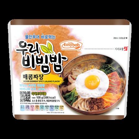 Bibimbap Spicy Jjajang 3.52oz(100g)