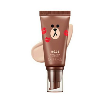 Line Friends Perfect Cover BB 1.69 fl.oz(50ml)
