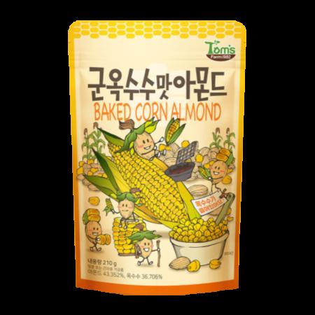 Baked Corn Almond 7.4oz(210g)