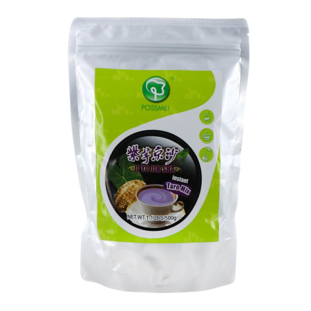 Bubble Tea Mix Instant Powder Taro 1.1lb(500g)