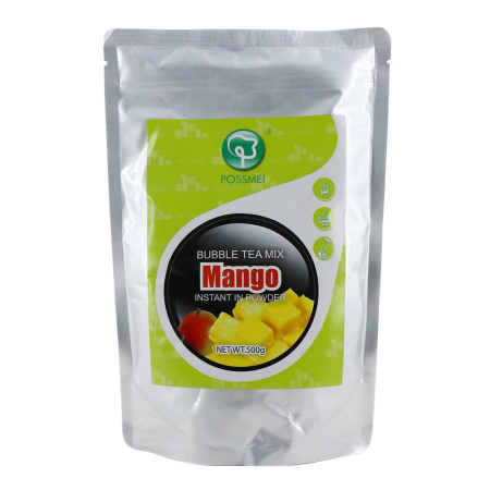Bubble Tea Mix Instant Powder Mango 1.1lb(500g)