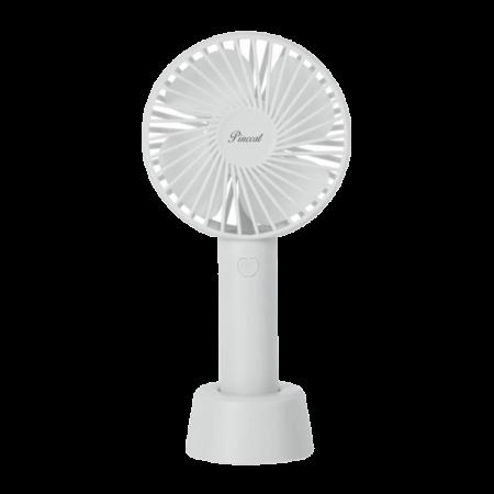 Standing Beauty Fan White