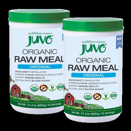 JUVO Organic Raw Meal Original (Set of 2)