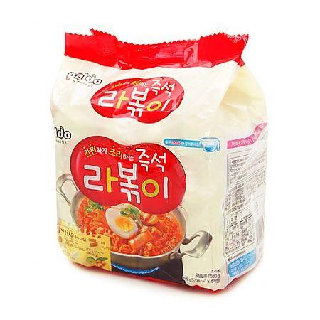 Rabokki Noodle 5.11oz(145g) x 4packs
