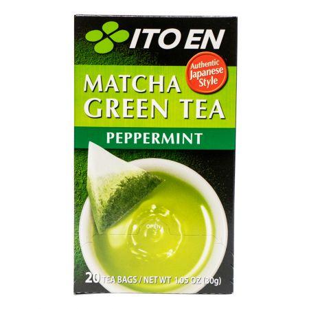 Matcha Green Tea Peppermint Tea Bags 0.05oz(1.5g) 20 Tea Bags