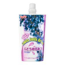 Shirakiku Fruits Jelly Drink Grape Flavor 5.3oz(150g), 시라키쿠 과일 젤리 드링크 포도맛 5.3oz(150g)