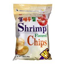 Nongshim Shrimp Flavored Chips Big Size 7.05oz(200g), 농심 알새우칩 빅사이즈 7.05oz(200g), 農心 Shrimp Flavored Chips 7.05oz(200g)
