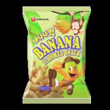 Nongshim Banana Kick Banana Snack 1.58oz(45g), 농심 바나나킥 1.58oz(45g)