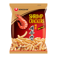 Nongshim Shrimp Cracker Spicy Flavor 2.6oz(75g), 농심 매운새우깡 2.64oz(75g)