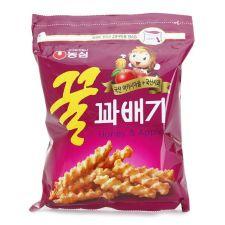 Nongshim Honey Flavored Twist Snack Big Size 10.05oz(285g), 농심 꿀꽈배기 빅사이즈 10.05oz(285g), 農心 Honey Flavored Twist Snack 10.05oz(285g)