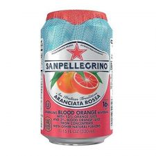 San Pellegrino Sparkling Beverage Aranciata Rossa Blood Orange 11.15 fl.oz(330ml) , 산펠레그리노 탄산수 아란시아타 로사 블러드 오렌지맛 11.15 fl.oz(330ml)