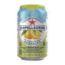San Pellegrino Sparkling Beverage Pompelmo Grapefruit 11.15 fl.oz(330ml) , 산펠레그리노 탄산수 폼페르모 자몽맛 11.15 fl.oz(330ml) , San Pellegrino 蘇打汽水 (葡萄柚味) 11.15 fl.oz(330ml)
