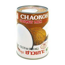 Chaokoh Coconut Milk 13.5 fl.oz(400ml), 차오코 코코넛 밀크 13.5 fl.oz(400ml), 巧口 椰奶 13.5 fl.oz(400ml)