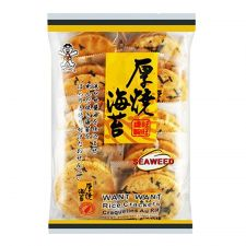 Want Want Seaweed Rice Crackers 5.6oz(160g), Want Want 김 쌀과자 5.6oz(160g)